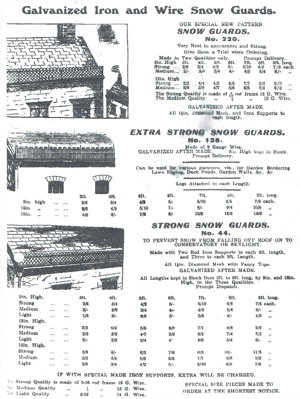 A.J. HARVEY & Co., Catalogue 1911